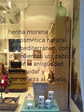 HENNA MORENA ESCAPARATE BORN TEVIAC ESCAPARATISMO EN BARCELONA SEPTIEMBRE 2014 (3)