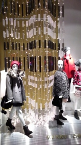 ZARA ESCAPARATE DIAGONAL WINDOW DISPLAY MERRY CHRISTMAS TEVIAC ESCAPARATISMO EN BARCELONA DESCUBRE LOS ESCAPARATES DE BARCELONA EN UN CLICK 2015 (5)