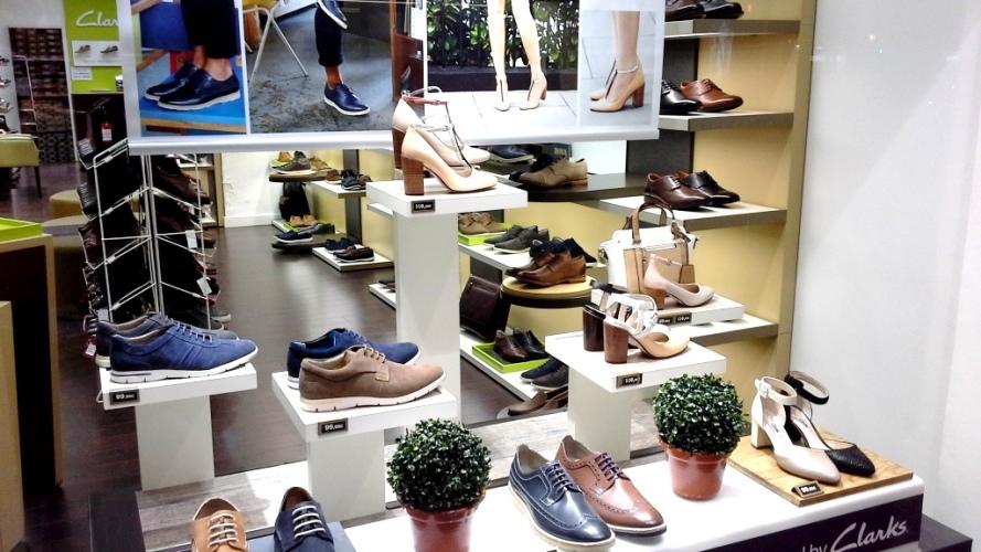 CLARKS ESCAPARATE TEVIAC ESCAPARATISMO EN BARCELONA #clarks #shoes #barcelona (3)