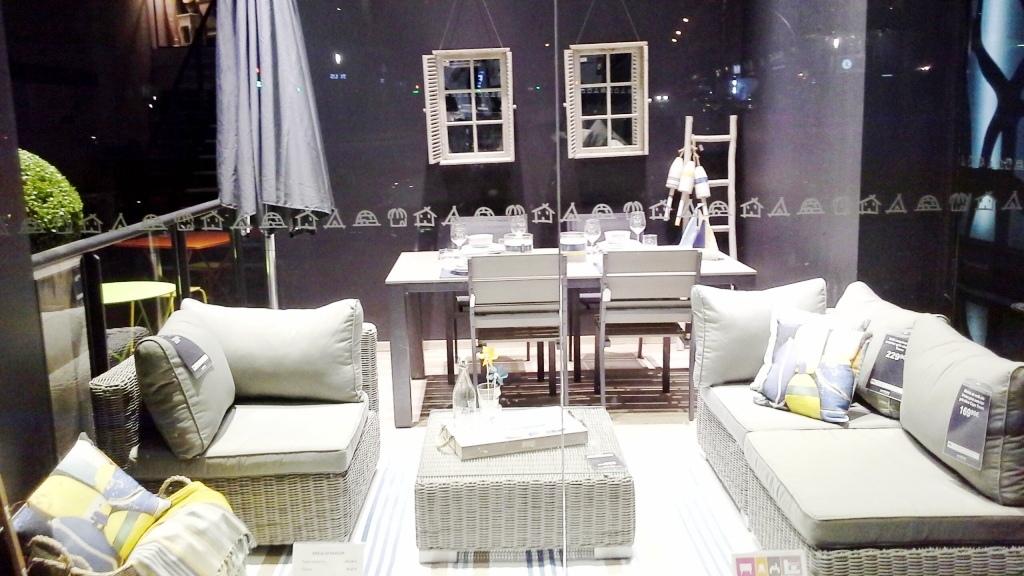 Maisons du monde escaparate diagonal mayo 2015 muebles and - La maison du monde barcelona ...