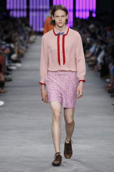 GUCCI MEN COLLECTION SPRING SUMMER 2016 TENDENCIA (1)
