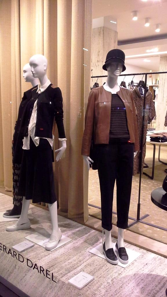 GERARD DAREL ESCAPARATE BARCELONA NEW COLLECTION 2016 TEVIAC ESCAPARATISMO EN BARCELONA (1)