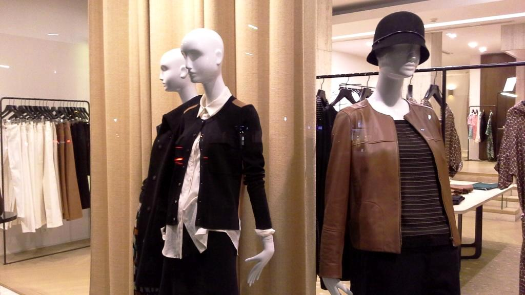 GERARD DAREL ESCAPARATE BARCELONA NEW COLLECTION 2016 TEVIAC ESCAPARATISMO EN BARCELONA (2)