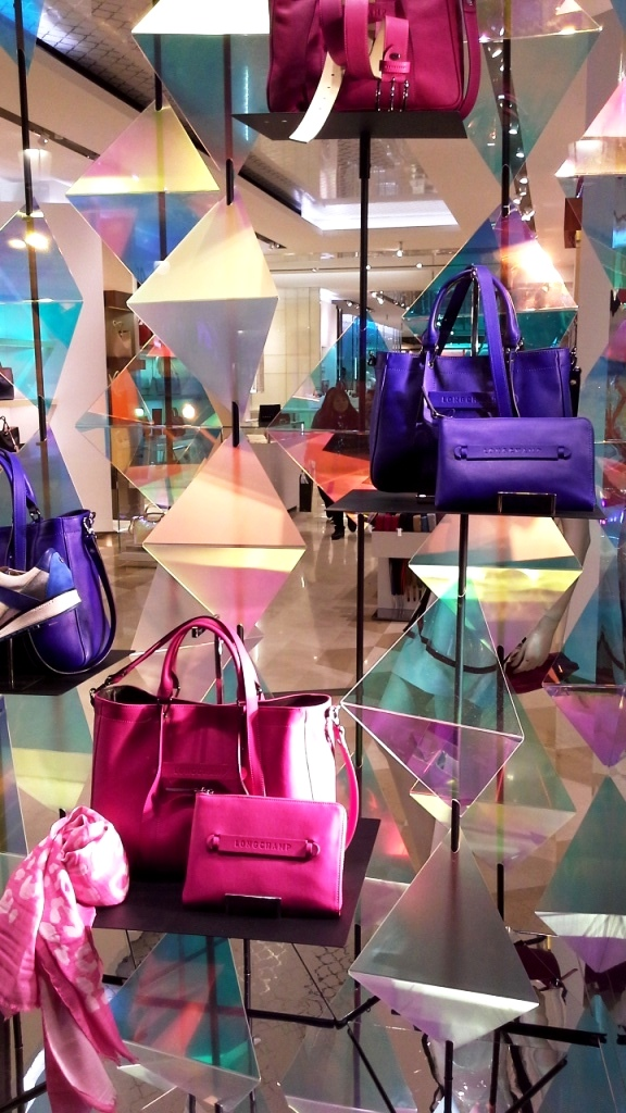 LONGCHAMP ESCAPARATE BARCELONA SS16 TENDENCIA PASEO DE GRACIA (10)
