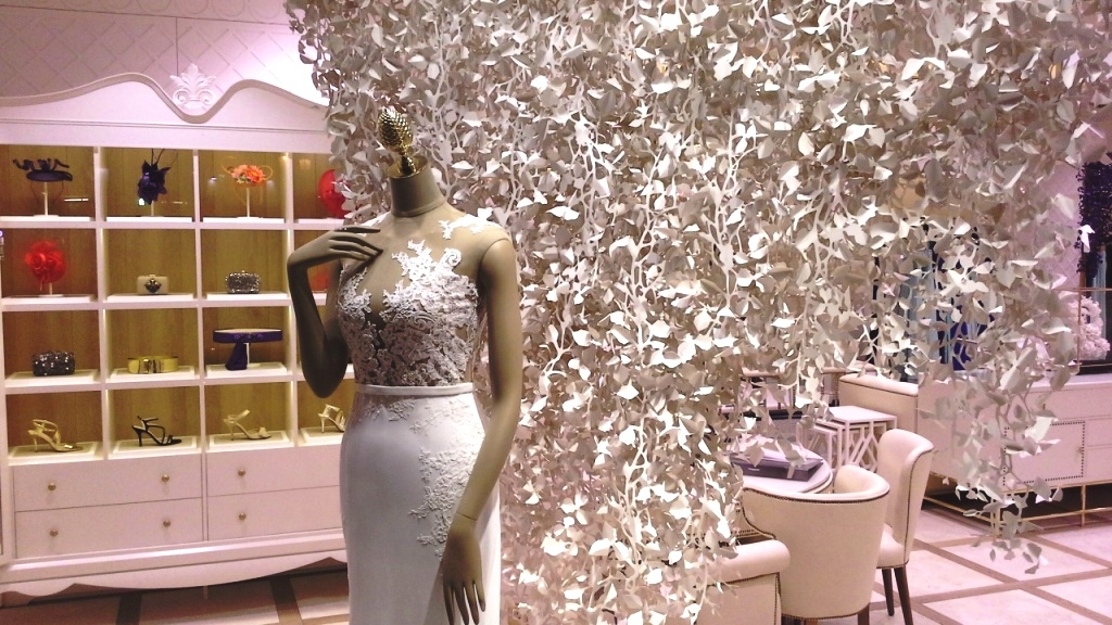 PRONOVIAS ESCAPARATE BARCELONA #pronoviasescaparate #pronovias2016 #teviac #window #vetrina (12)