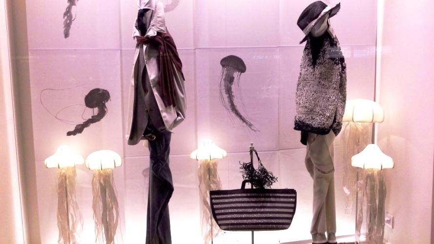 BRUNELLO CUCINRELLI VETRINA BARCELONA #teviac #escaparatismo #escaparatelover #tendencia #fashion #springsummer2016 #trend (2)
