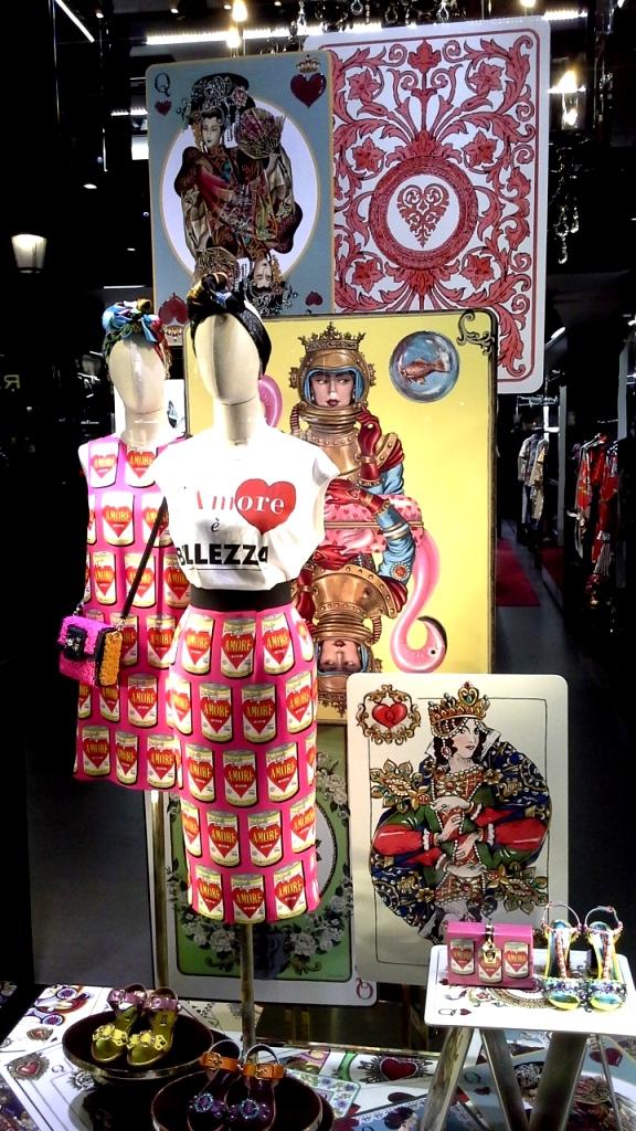 #dolcegabbana #escaparatebarcelona #escaparatismobarcelona #fashionista #moda #campaign #tendencia #teviac #barcelona (1)