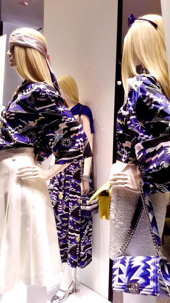 #chanel #chanelbarcelona #fashion #luxe #barcelonamoda #teviac #escaparate #window #vetrina chanel (9)